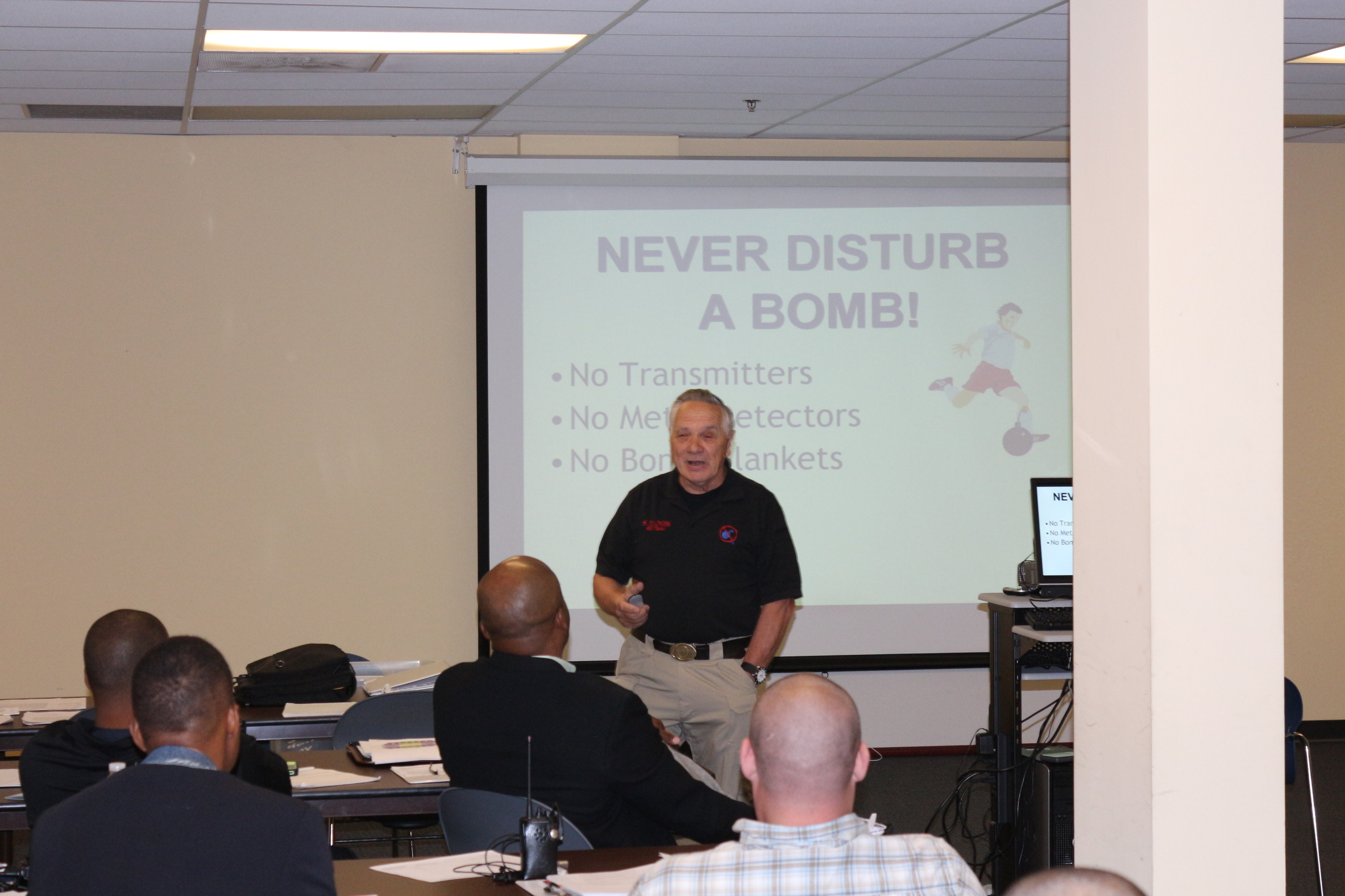 Executive Protection Training,  subject matter experts, EOD and bomb dogs