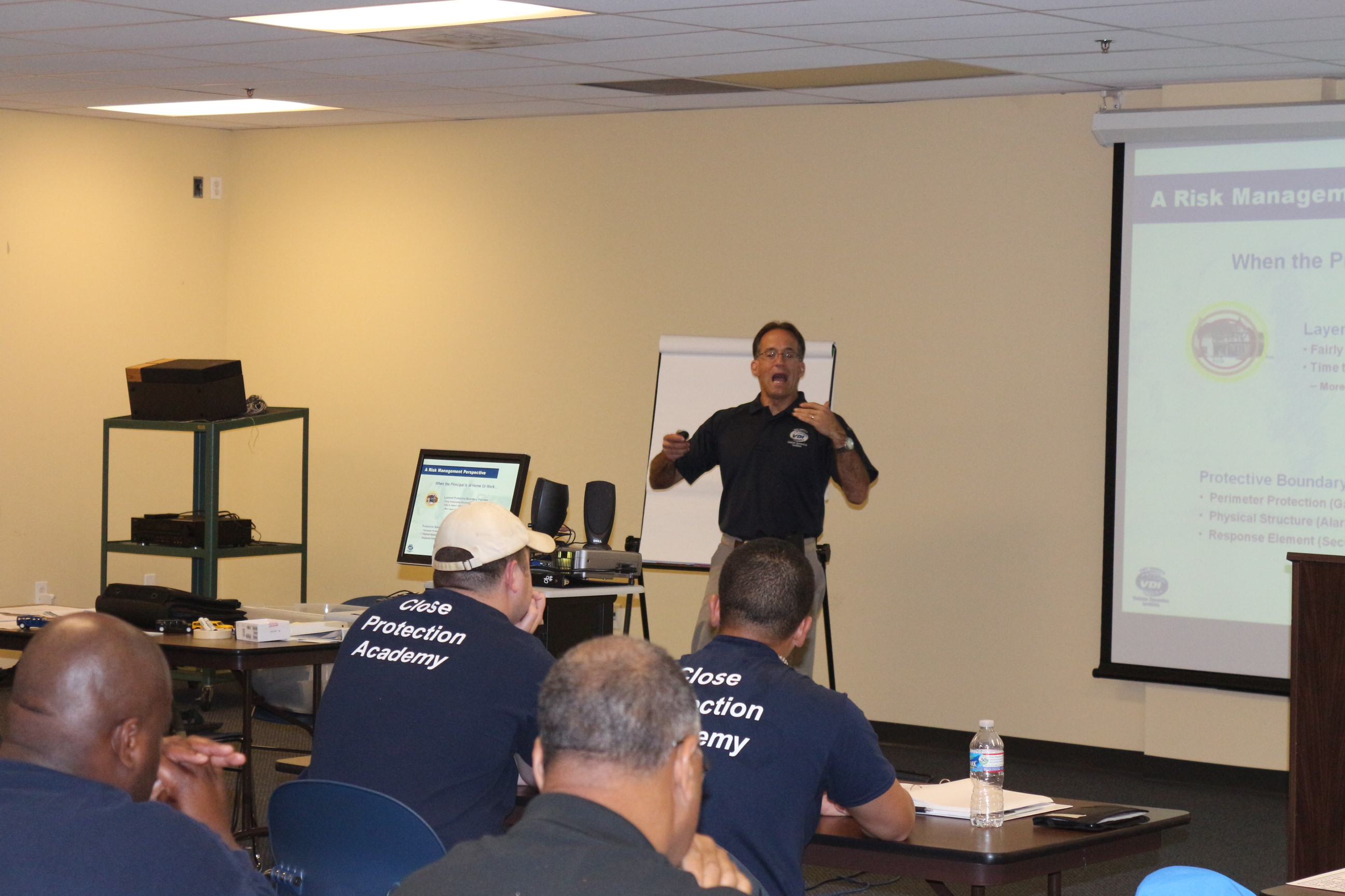 Executive Protection Training,  subject matter experts, guest speakers