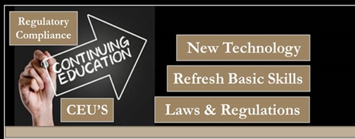 EP Continuing Education program (DCJS 32 I)