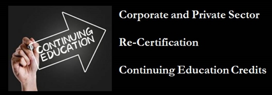 Industry Certification Continuing Education Credit Provider