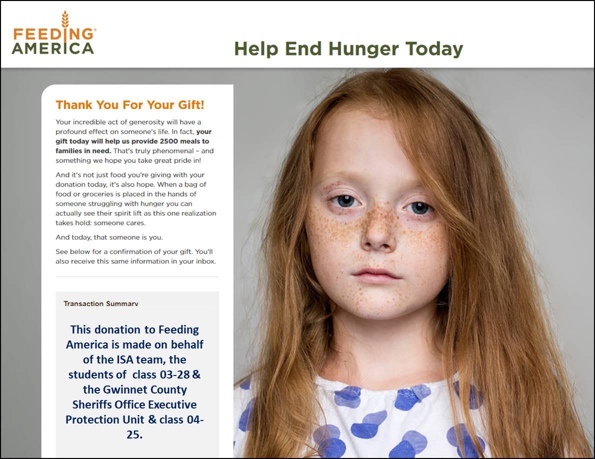 The ISA Charity Program Still Giving